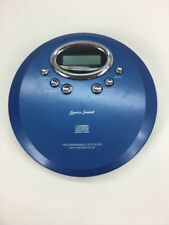 Lenoxx Sound Cd Portable Compact Disc Player -Blue - Cd-57 -Works
