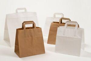 Take-Away Papiertragetaschen Konditortragetaschen Papiertüten Kuchentüten Gastro