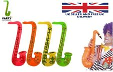 4pcs  Inflatable Air Guitar 106cm length Kids Children Toy Blow Up Party UK POST