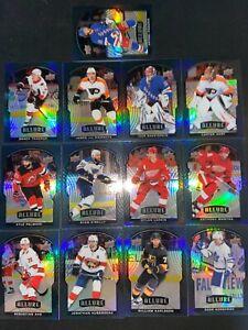 2020-21 Upper Deck ALLURE BLACK RAINBOW 13X Card LOT LOADED W Stars SP's