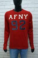 Maglia Uomo ABERCROMBIE & FITCH Maglietta Polo Taglia Size M Cotone Shirt Man