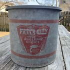 Falls City Beer The Angler's Choice Minnow Bucket No. 710 Dylite Float