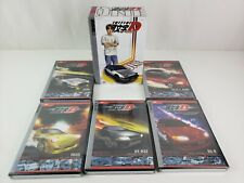 Initial D DVD Box Set - Stage ONE - Volume 1 - 5 (NEW) Open box - TOKYO pop