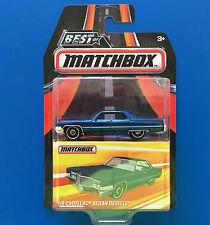 2016 BEST OF MATCHBOX - 1969 CADILLAC DE VILLE LUXURY SEDAN - Mint on card!