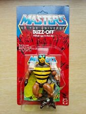 MASTERS OF THE UNIVERSE  BUZZ-OFF  1983 UNPUNCHED CARD !