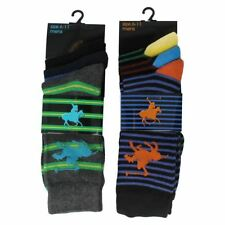 Unbranded Striped Cotton Socks for Men