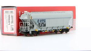 Rivarossi HR6471 Tow Truck Hopper Vtg Livery Grey Light