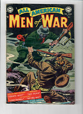 ALL AMERICAN MEN OF WAR #9 - Grade 5.0 - Golden Age Ross Andru, Gene Colan!