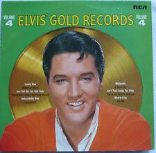 ELVIS PRESLEY - Elvis' Gold Records Vol. 4 - LP