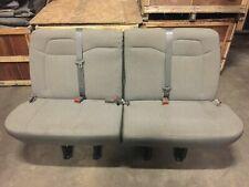 2008-2020 CHEVY GMC EXPRESS SAVANNA 4 PERSON REAR SPLIT BENCH SEAT