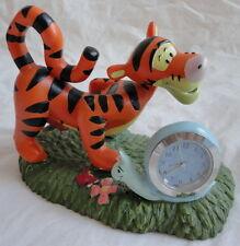 Tiger & Friend Schreibtisch Uhr Schnecke Disney Bewegung Winnie Pooh Figur