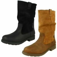 Girls Clarks Waterproof Zip Up Boots 'Astrol Rise'