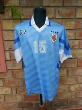 1995 Uruguay National team MARCELO SARALEGUI match worn shirt FULL SIGNED