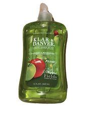 Klar & Danver Home Essentials Liquid Hand Soap, Apple 🍏 Fields 15 Fl. Oz