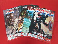 CAPTAIN AMERICA BY RICK REMENDER 2013 SERIES #1-5 ALL FIRST PRINT NM/M