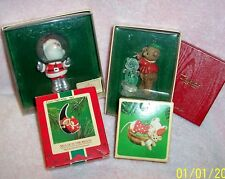 New listing Hallmark Space Santa, Ice Sculptor, Napping Mouse, Mouse in the Moon & More