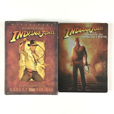 Indiana Jones La Trilogie + le 4 L'intégrale La Quadrilogie / Coffret Lot 4 DVD