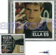 "PAOLO MENEGUZZI ""ELLA ES"" RARO CD IN SPAGNOLO STAMPA CILENA"