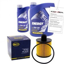 Inspektionskit MANNOL Energy 5W-30 für Hyundai Accent Iii 1.5 Crdi Gls Getz