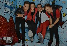 BIG TIME RUSH - A3 Poster (42 x 28 cm) - Logan Henderson Clippings Sammlung NEU