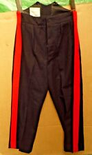 GENUINE BRITISH ARMY ISSUE TROUSERS -NO1 DRESS BLUE OR WITHOUT SS