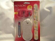Revlon Pedicure Kit/Set Toe Clip Nail File Pumice Stone Toe Seperator 80676
