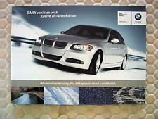 BMW OFFICIAL xDRIVE SYSTEM PROMOTIONAL INFORMATION BROCHURE 2006