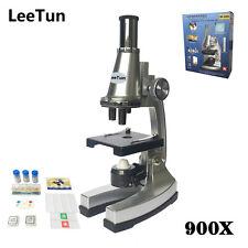 900X Educational Toy Illuminated Biological Microscope Children Birthday Gift