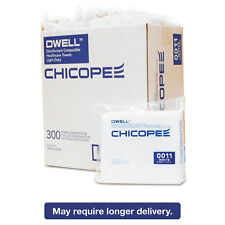 Dwell Healthcare Towels White Polyester 12 x 13 300/Carton 0011