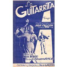LA GUITARRITA Orchestre Julio FALCON paroles Jean RODOR et musique Eduardo AROLA