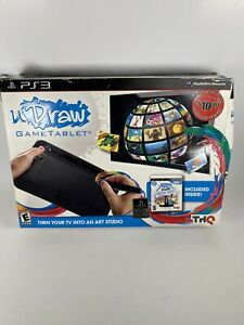 UDraw Game Tablet + Studio Instant Artist Game Bundle PS3 - New In Open Box!