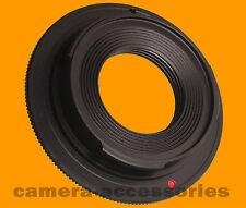 Rambex CCTV C-mount Cine Movie lens to Sony E NEX camera adapter for A7 A6000 5N