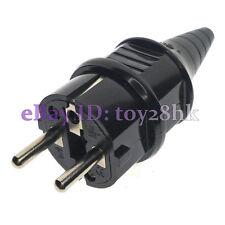 LOT 10, Schuko European Rewireable Plug 250V 16A CCE 7/7 Standard Plug