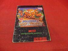 Joe & Mac 2 Lost in the Tropics Super Nintendo SNES Instruction Manual ONLY
