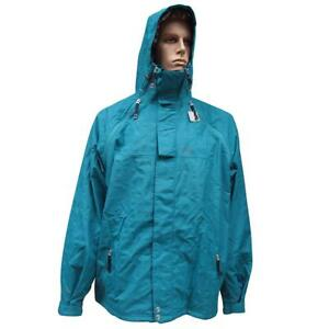 Oakley Rocco Lite Snow Jacket Mens Size XL Blue Tar Snowboarding Ski Mountain