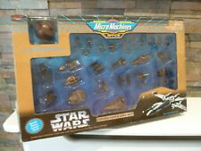 new Vintage Micro Machines Space STAR WARS Bronze Collector's Gift Set GALOOB