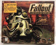 Rare Original Fallout 1st Version Big Box Edition PC 1997