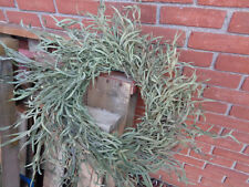 Willow Eucalypt Dried wreath, wedding, cottage decor, greenery hand woven wreath