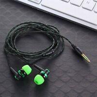 Stereo Wired Earphone Earplug Headphone Earbud