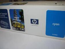 HP LaserJet 4500 4550 Cyan Toner Cartridge C4192A Genuine OEM New Sealed Box