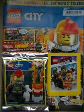 NEW THE LEGO CITY SPECIAL LIMITED EDN MAGAZINE EDS 12 FIREMAN MINIFIGURE MITB
