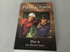 Anthony Robbins Personal Power CLASSIC EDITION Day 6  THE DRIVING FORCE