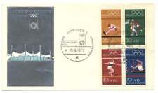 Bund H-Blatt 22 Schmuckbrief Olympiade 1972, SST MÜNCHEN ERÖFFNUNGSFEIER (44160)