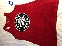 Soft As A Grape NBA Toronto Raptors Tank Top Red Women's 1X Brand New