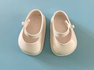 """Vintage Doll Clothes: White Shoes for Ideal Toni P91 & 17"""" Shirley Temple"""