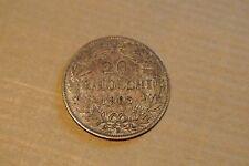 PIUS IX 20 BAIOCCHI 1865 TTB