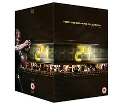 24 THE COMPLETE SERIES SEASON 1 2 3 4 5 6 7 8 9 R2 Redemption + Live Another Day