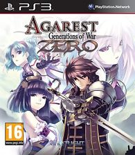 Agarest: Generations of War Zero  playstation 3   PS3   NUOVO