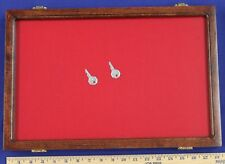 "NEW !!   12"" x 18"" x 2"" Cherry Display Frame...Hand Made"