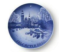 2020 Bing & Grondahl  B&G Christmas Plate New in Box Rosenborg Castle